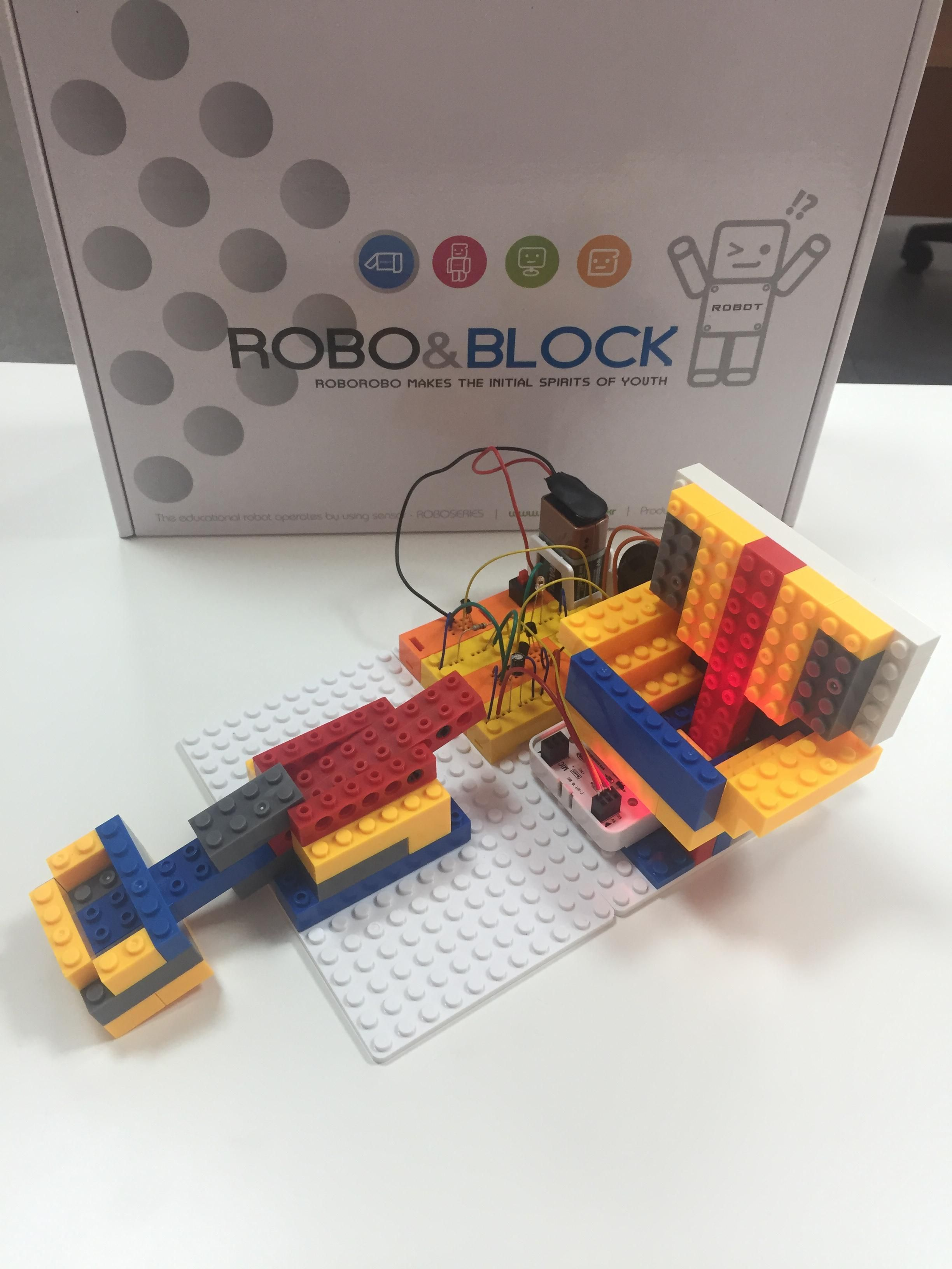 Ресурсный набор для Robo Kids (конструктор Robo&Block (Electronic Kit))